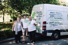 City Harvest refrigerated vans